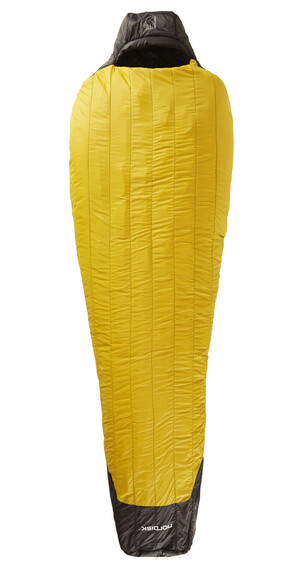 Nordisk Oscar -20° Sleeping Bag L mustard yellow/black